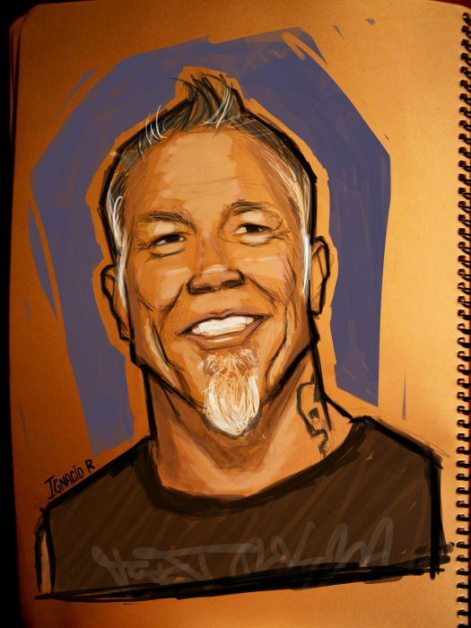 James Hetfield by IgnacioR
